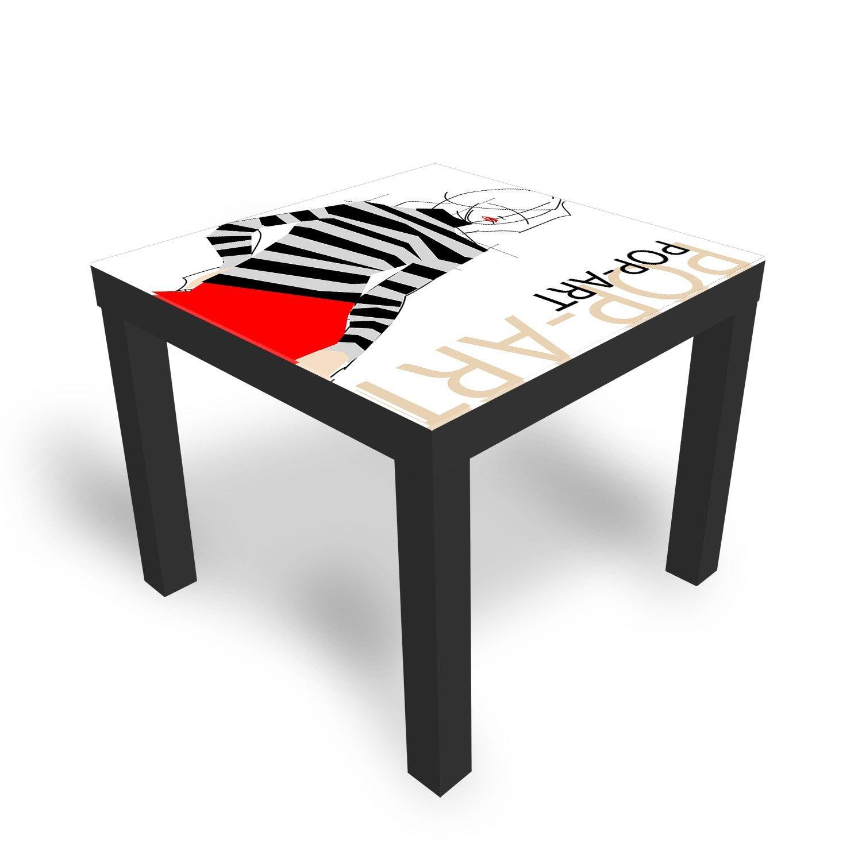 roter Tisch, Beistelltisch (Ikea) in 85419 Mauern für 5,00