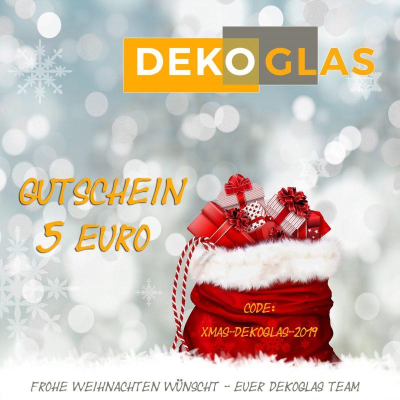 DEKOGLAS - Weichnachten Gutschein 5 Euro